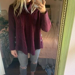 Anthropologie Angel Of The North Cowl Sweater